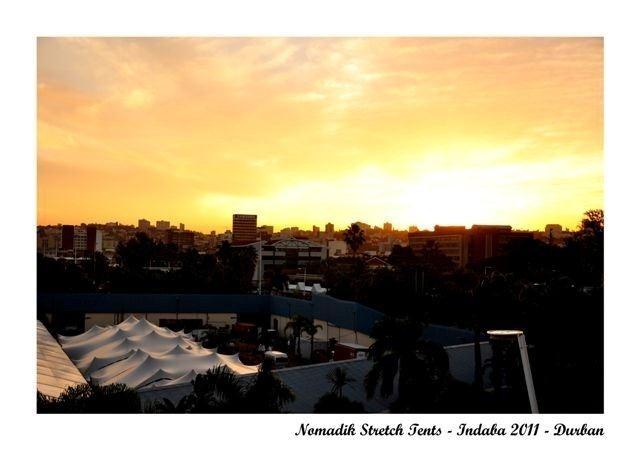 Nomadik Stretch Tents: Indaba Durban 2011