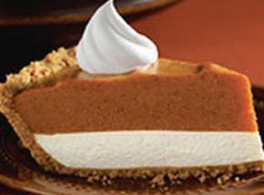 Double Layer Pumpkin Pie. I have been making this for years! Like almost 20 years and our family loves it! I'm glad that I was able to find it because I seemed to have misplaced my recipe :)