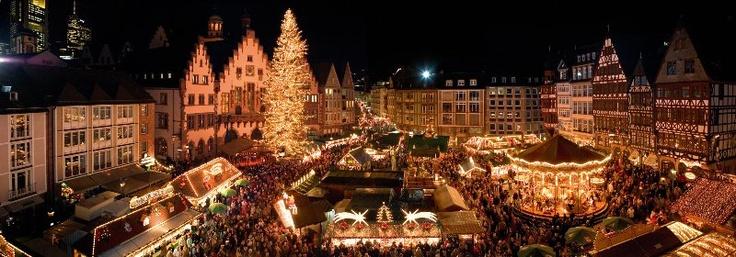 Mercado de Navidad de Frankfurt (Alemania)