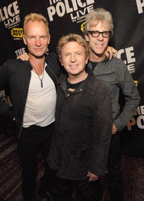 Sting, Stewart Copeland, Andy Summers and The Police