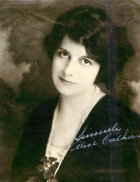 Alice Calhoun (November 21, 1900 – June 3, 1966) was an American silent film actress. (Princess Jones)