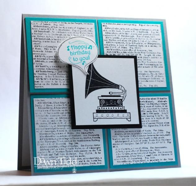 A Birthday Tune by marmie43gs - Cards and Paper Crafts at Splitcoaststampers
