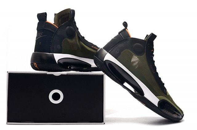 Nike Air Jordan 34 XXXIV PF 2020 Olive