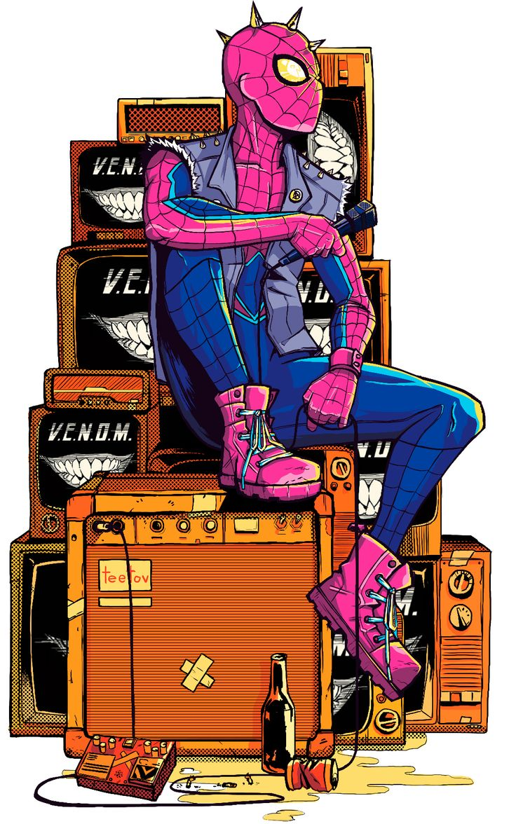 Spider-Punk from Spider-Verse #2