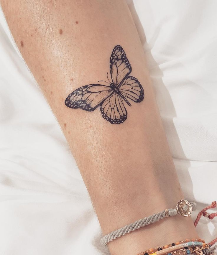 21 #Adorable #Butterfly #Tattoos #For #Women