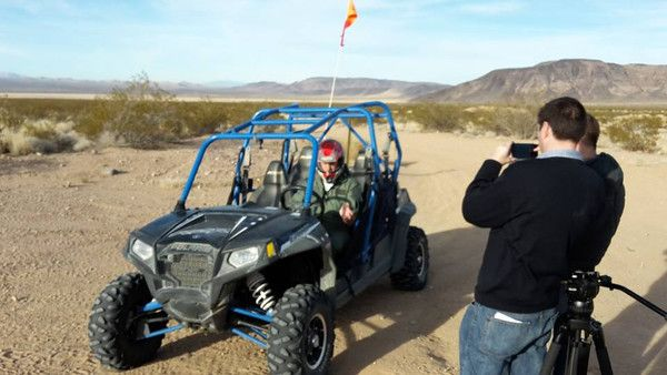 Ready for a race in the desert with the HEXO?