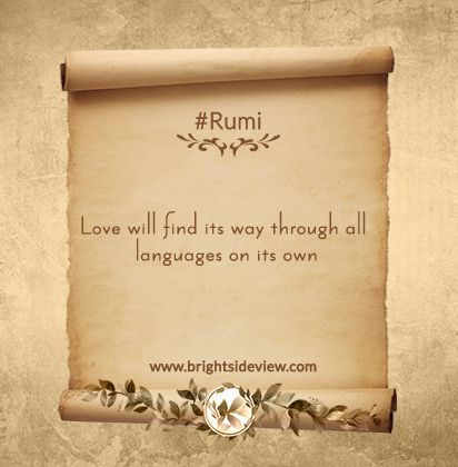 Best Rumi Short Quotes About Life #rumi