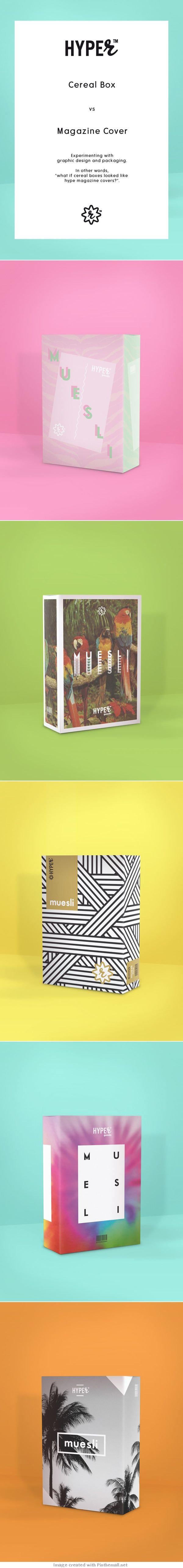 What is cereal #packaging looked like this PD created via https://www.behance.net/gallery/HYPER/14489727