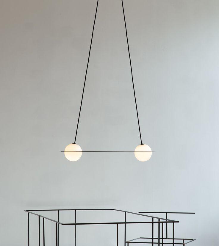 Vintage Pendant lamp Laurent Collection by Lambert et Fils