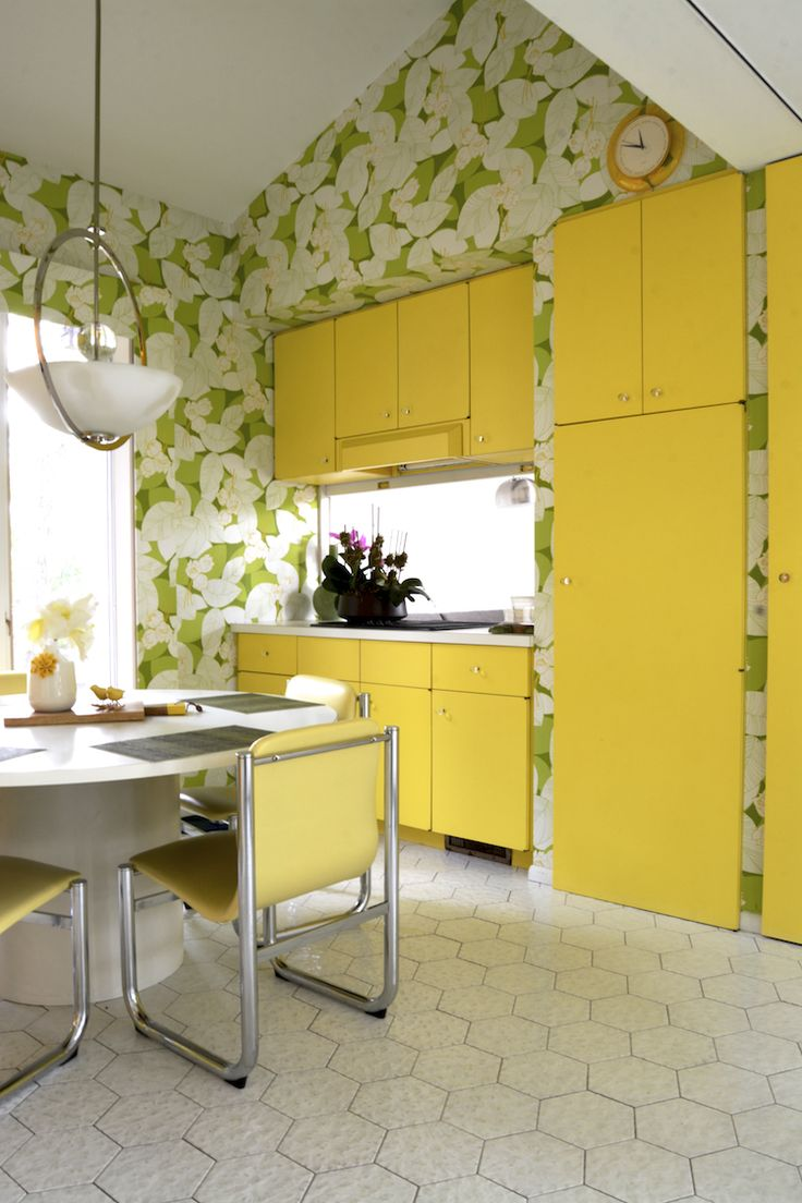 Yellow Kitchen 17 Best Images About Yellow Kitchen On Pinterest The Cabinet
