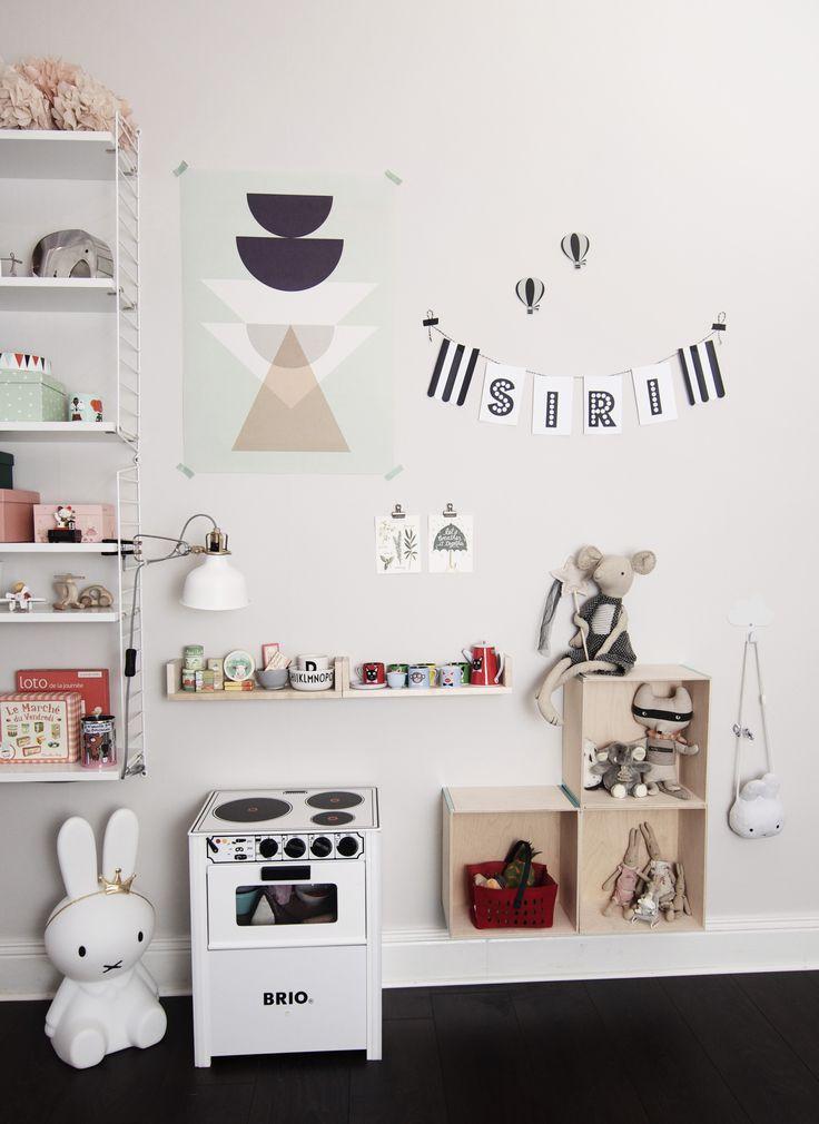 Kids room. By instagram studio.jb.stockholm
