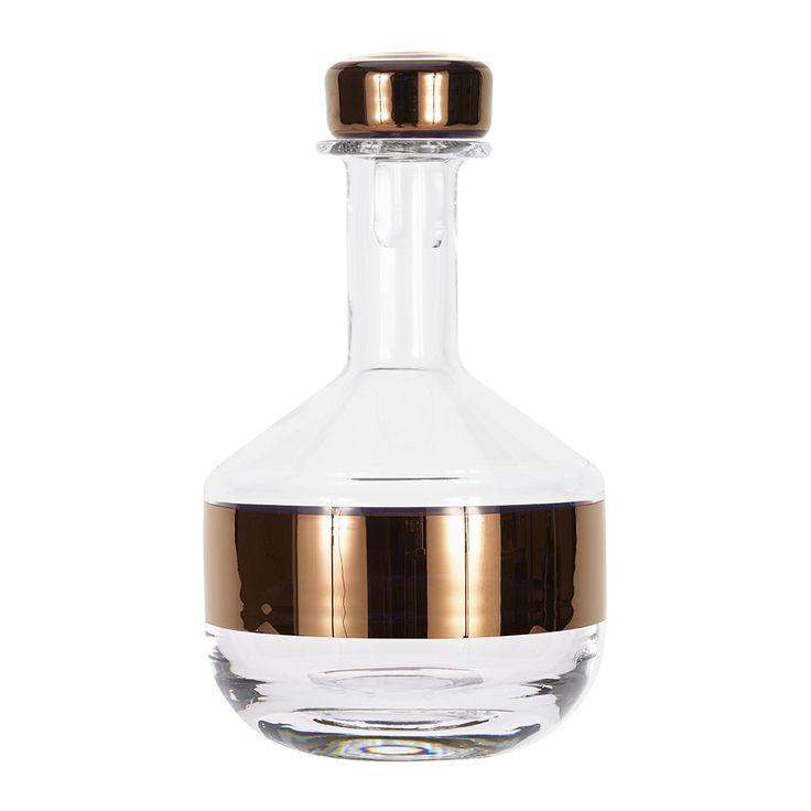 Discover the Tom Dixon Tank Whisky Decanter at Amara