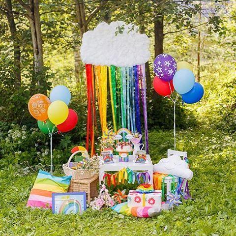 Праздник был почти 3 месяца назад, но все не было времени показать. Наш радужный День Рождения, 3 годика! #pavlenko_handmade