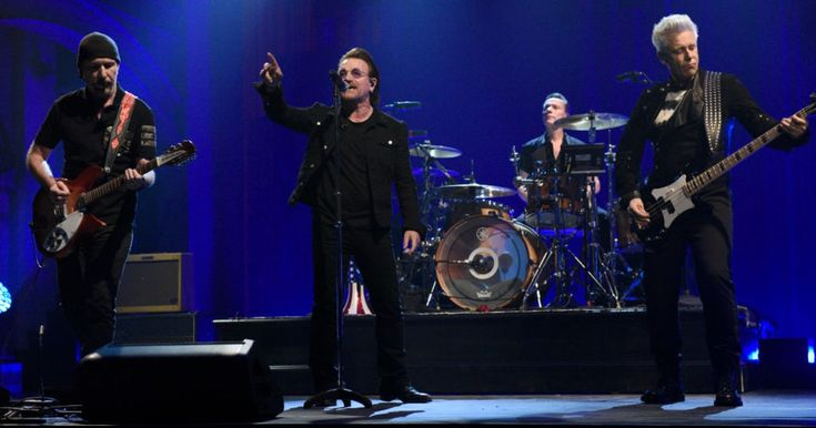 Watch U2 Bring 'Songs of Experience' Tracks to 'SNL'  ||  U2 returned to 'SNL' for the first time in eight years to perform a pair of tracks off their just-released new album 'Songs of Experience.' http://www.rollingstone.com/music/news/watch-u2-bring-songs-of-experience-tracks-to-snl-w513138?utm_campaign=crowdfire&utm_content=crowdfire&utm_medium=social&utm_source=pinterest
