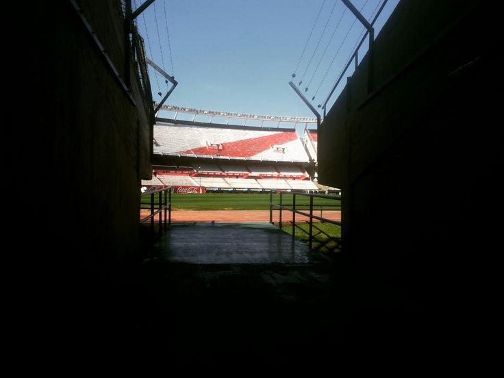 Entrada al estadio Monumental del Club Atlético River Plate soñado!