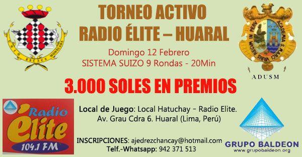 Huaral, Lima.- Torneo Activo Radio Elite, 12 feb 2017 - Torre 64