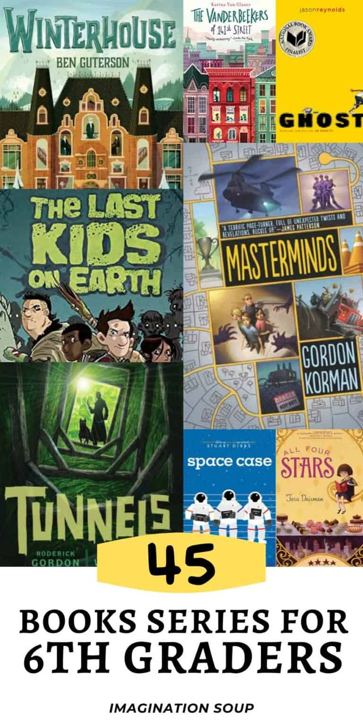 45 book series for 6th graders 11 year olds in 2020