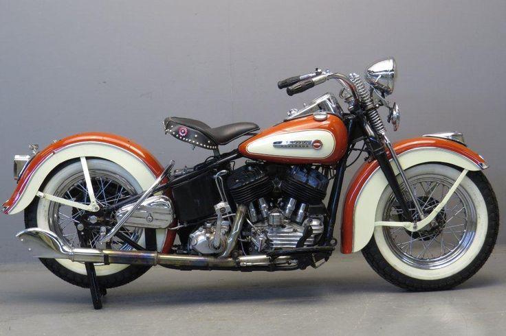 Harley Davidson 1947 Model 47u 1200cc