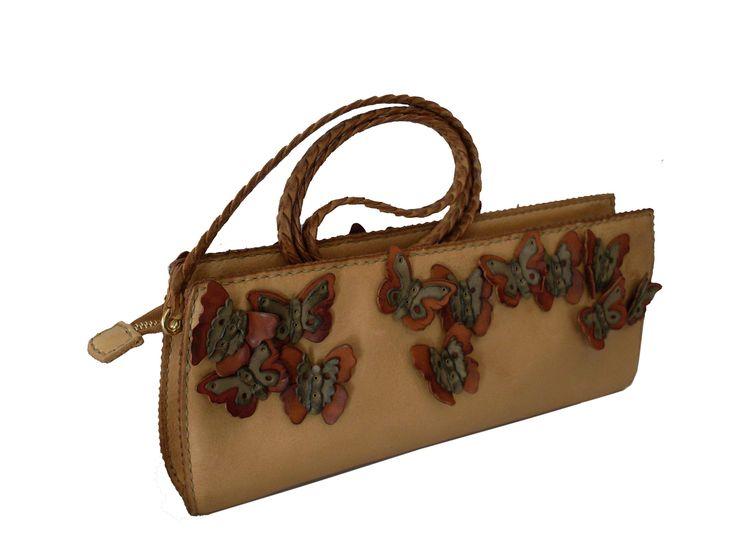 Gön Deri 20086 KELEBEK Leather Handmade Bag