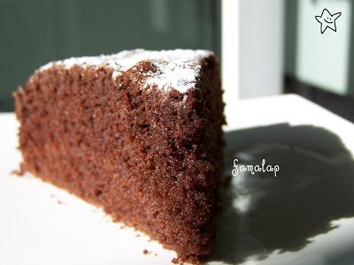Cocina Fácil Sin Gluten: Bizcocho esponjoso de chocolate