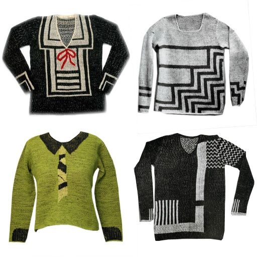 Schiaparelli sweaters - 1920s and 30s