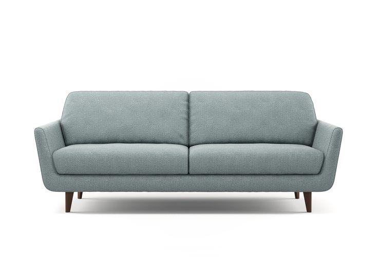 die besten 25 stoffsofa ideen auf pinterest sofa scandinavian couch grau wohnzimmer und. Black Bedroom Furniture Sets. Home Design Ideas