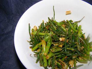 Lemon Garlic Agretti