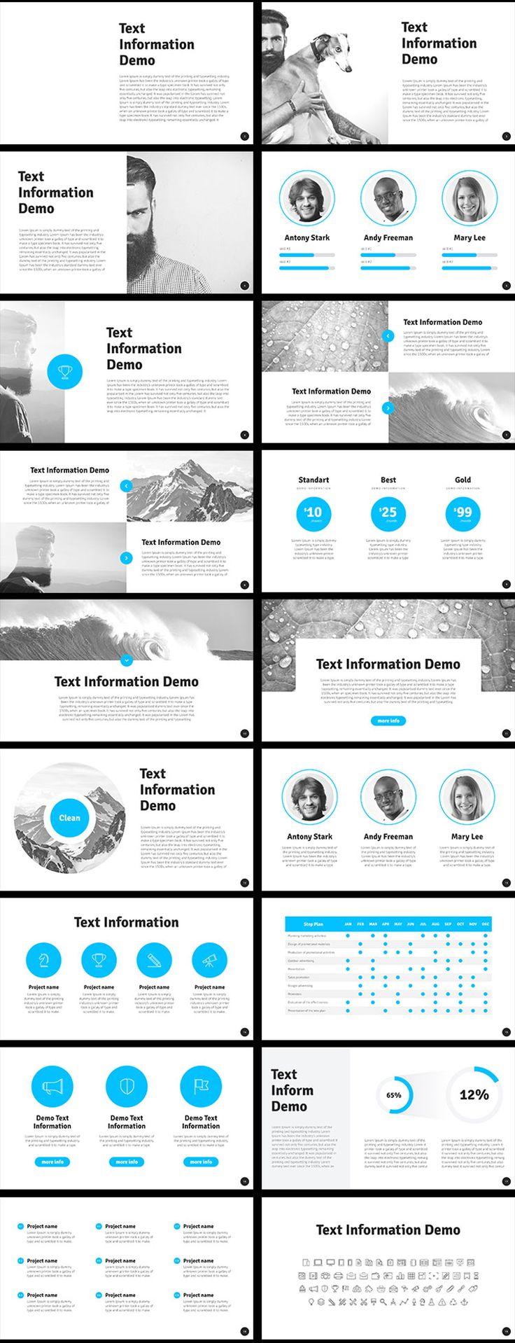 Assez Les 25 meilleures idées de la catégorie Présentation powerpoint  QI77