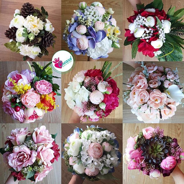Her tarzda her renkte her türlü çiçekle çalışabiliriz  Siz yeter ki bize hayalinizi anlatın