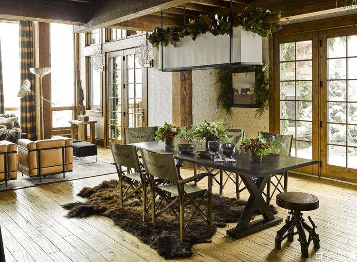 House Tour: Ken Fulk Creates A Montana Guesthouse That's The Ultimate Winter Getaway