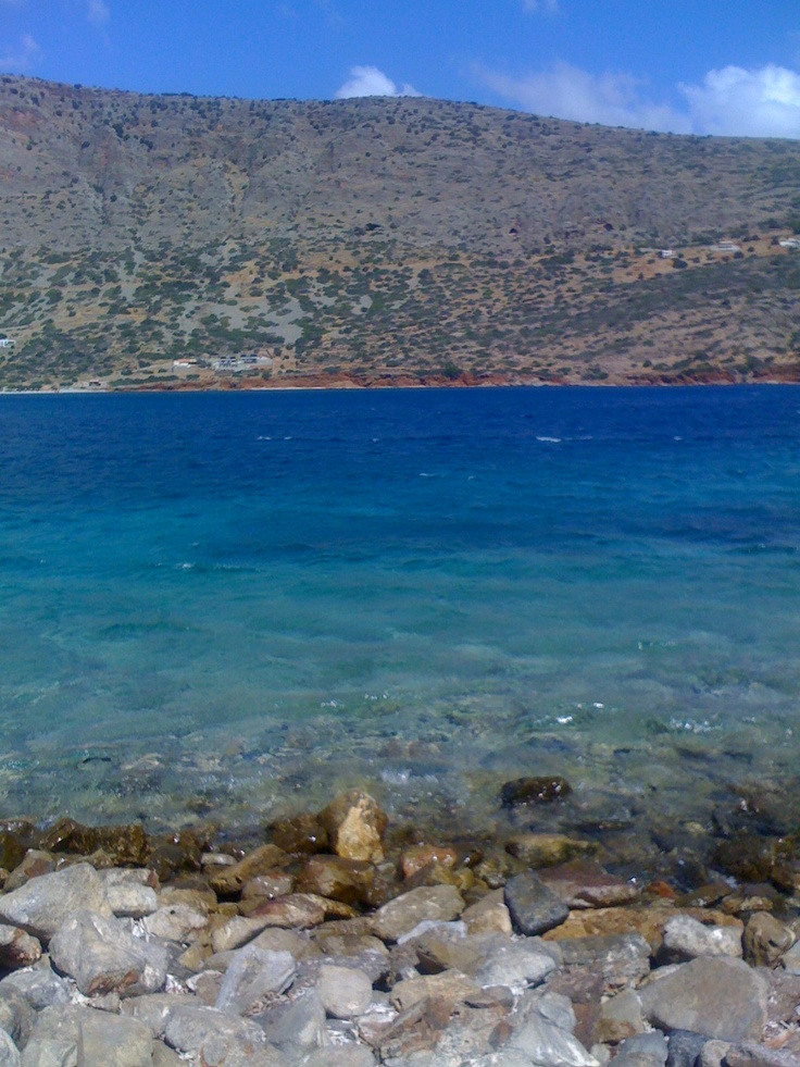 View of Crete from Spinalonga
