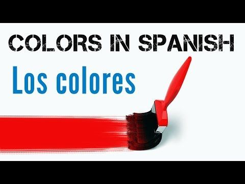 How to make sentences & describe things with colors in Spanish | Spanish Learning Lab