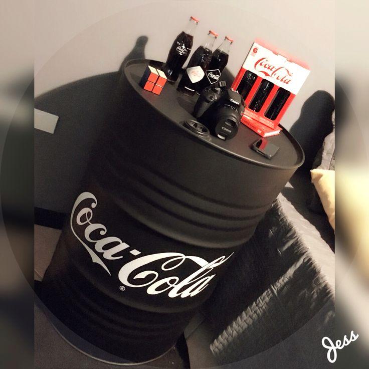 Tonel decorativo Coca-Cola