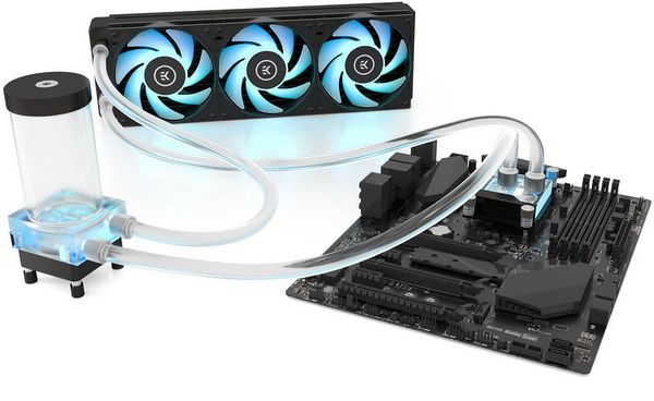 Ek Water Blocks Classic Rgb P360 Complete Rgb Liquid Cooling Kit