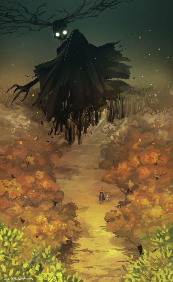 Out of the Woods by Simply-Psycho on DeviantArt over the garden wall