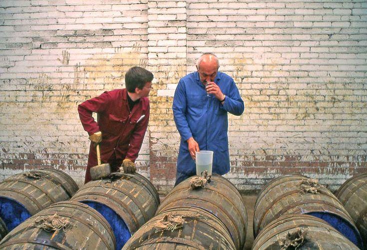 North British Distillery Cooperage, West Calder, West Lothian, Scotland  -  1995