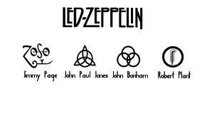 Led Zeppelin Symbols