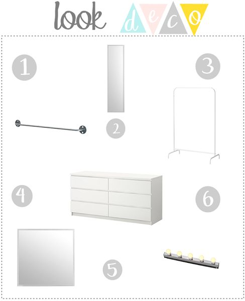 Look Deco: como hacerte UN VESTIDOR MADE IN IKEA