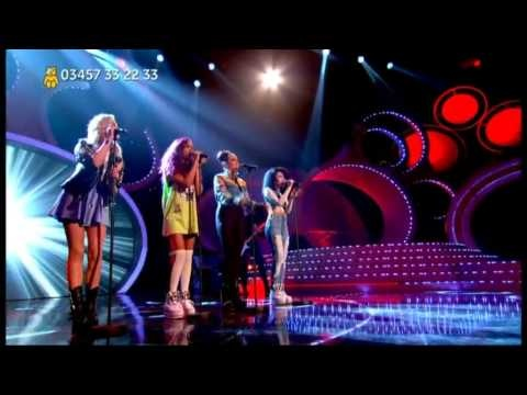 Little Mix Perform 'Change Your Life' Live - Children In Need 2012