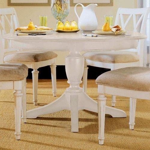 American Drew Camden Buttermilk Round Pedestal Table AD 920 701R