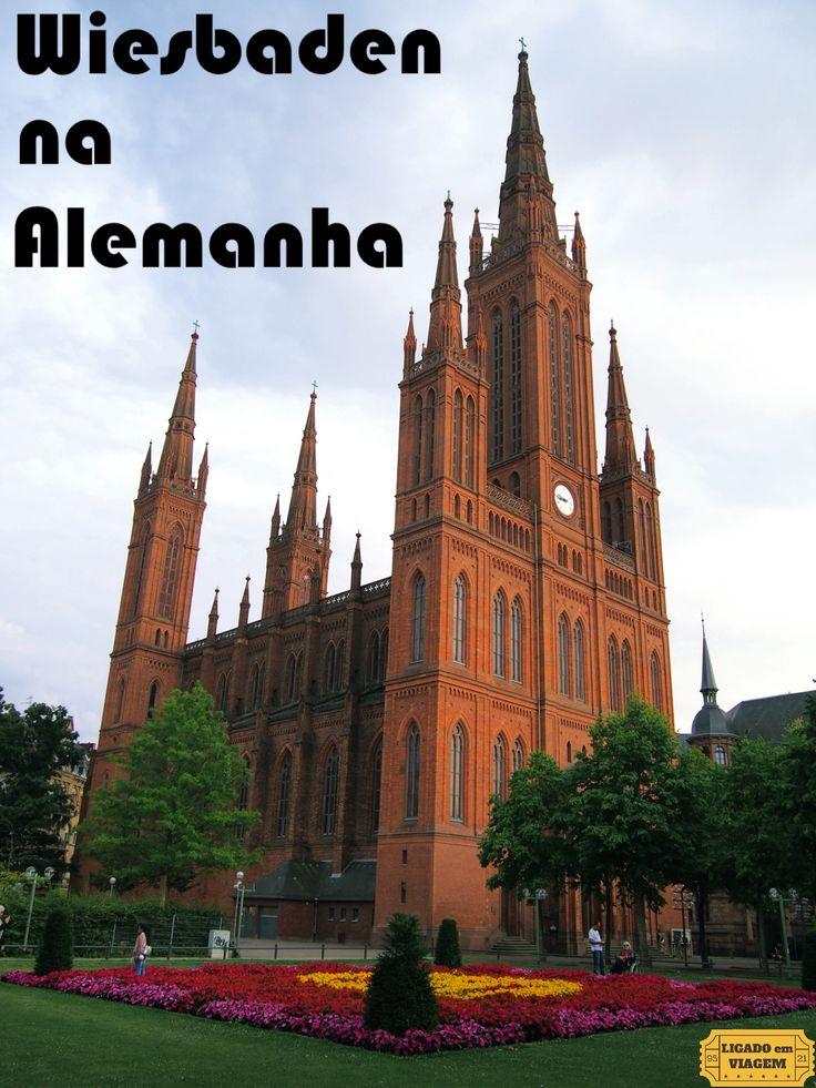 A cidade de Wiesbaden na Alemanha é uma excelente opção para uma viagem bate-e-volta a partir de Frankfurt ou mesmo para ficar durante um final de semana.