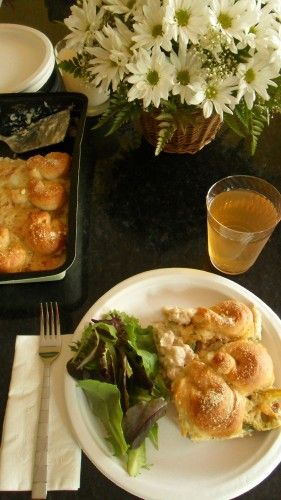 Chicken Alfredo Pot Pie and Chinet Summer Party Pack Giveaway!