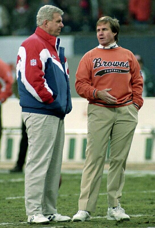 Bill Parcells and Bill Belichick.
