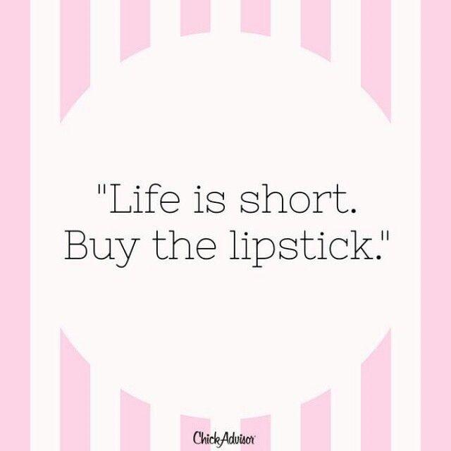 Milyen igaz! :) #quote #makeup #lipstick