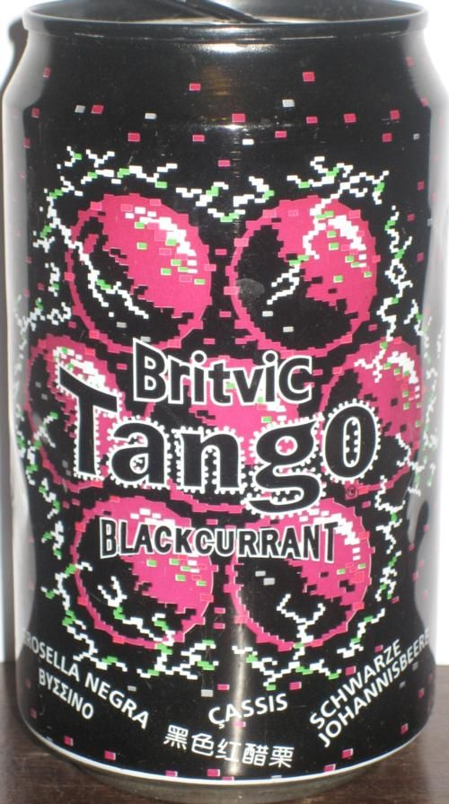 TANGO-Blackcurrant soda-330ml-Britvic, Great Britain
