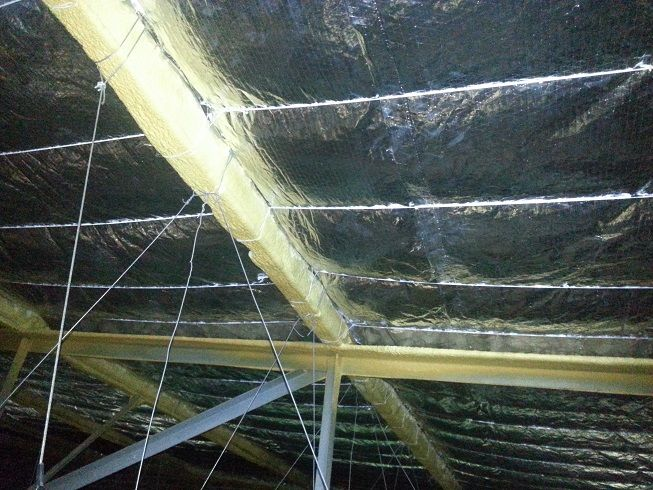 Factorylite insulation is a non-combustible flexible fiberglass insulation. It is a high quality glasswool insulation reinforced with a woven aluminium foil