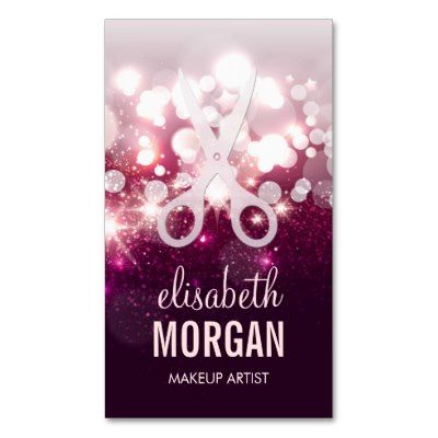 22 best sparkle images on Pinterest Business card design, Cards - sample appointment card template