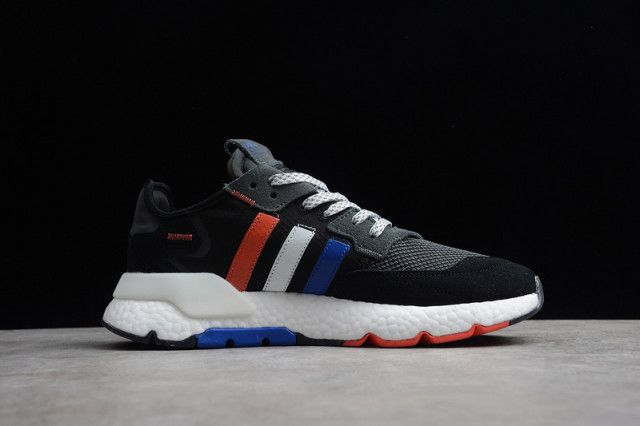 adidas original sneakers blue red and black white