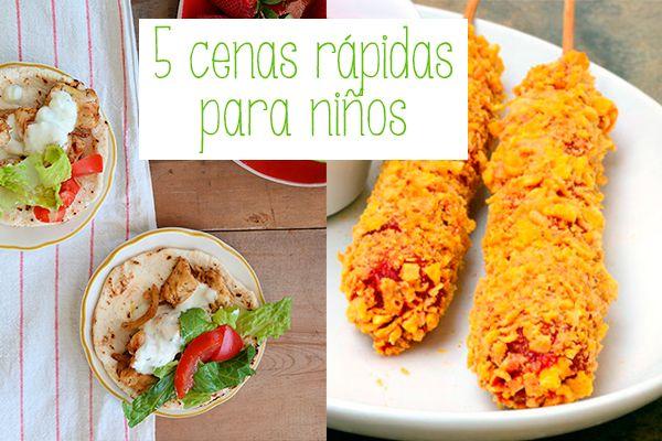 5 cenas para ni os r pidas y riqu simas hot dogs for Cenas rapidas y economicas