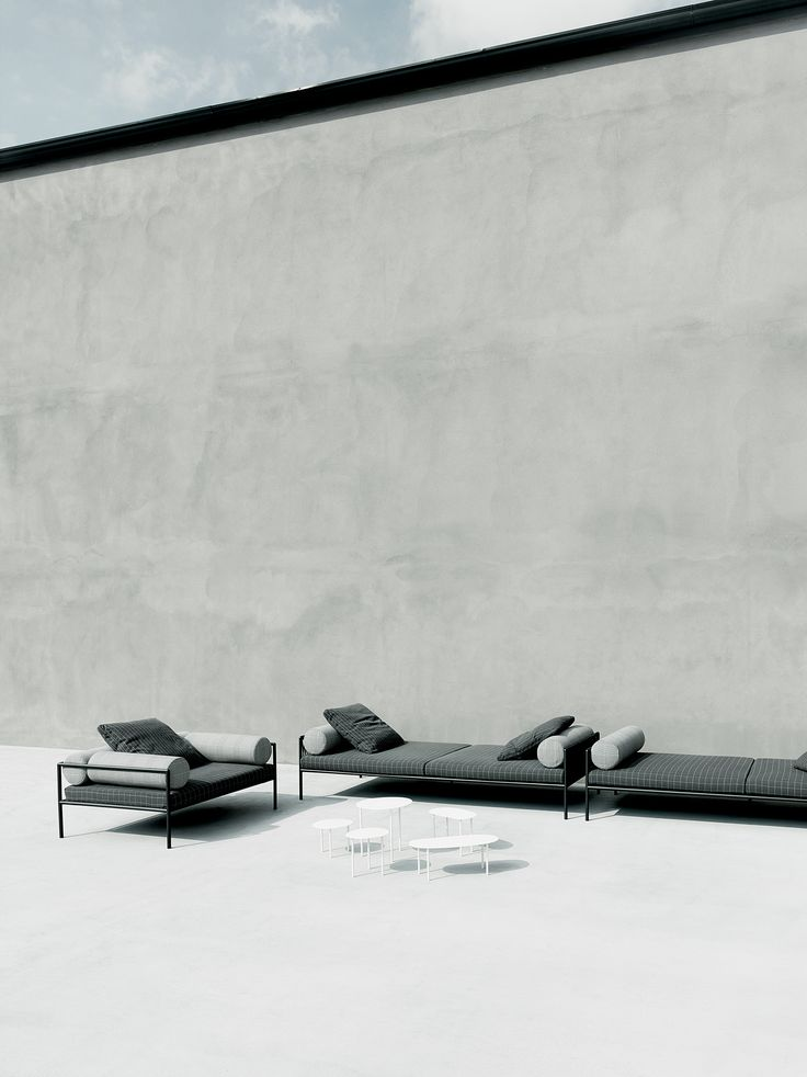Agra outdoor armchair and daybed design David Lopez Quincoces